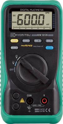 【代引不可】【メーカー直送】 共立電気計器【計測機器】 デジタルマルチメータ(電圧測定特化タイプ) KEW1012K (4796365)【ラッピング不可】