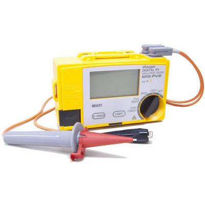 【代引不可】【メーカー直送】 マルチ計測器【計測機器】 太陽電池パネル対応絶縁抵抗計 MISPV2 (7587538)【ラッピング不可】