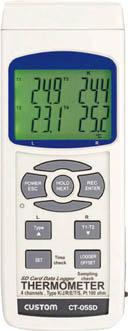 【代引不可】【メーカー直送】 カスタム【計測機器】デジタル温度計 CT05SD (3923606)【ラッピング不可】