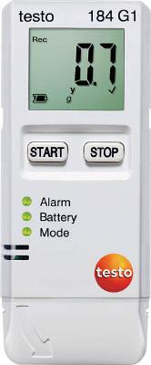 【代引不可】【メーカー直送】 テストー【計測機器】 温度・湿度・衝撃用データロガ TESTO184G1 (4941578)【ラッピング不可】