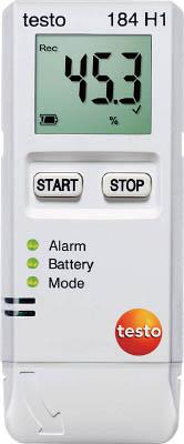 【代引不可】【メーカー直送】 テストー【計測機器】 温度・湿度データロガ TESTO184H1 (4941586)【ラッピング不可】