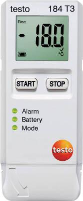 【代引不可】【メーカー直送】 テストー【計測機器】 温度データロガ TESTO184T3 (4941616)【ラッピング不可】