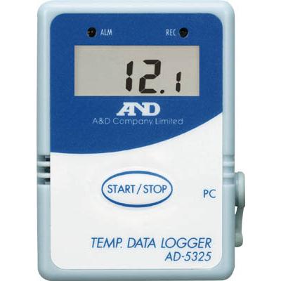 【代引不可】【メーカー直送】 エー・アンド・デイ【計測機器】 温度データーロガー 4000メモリースタート・セット AD5324SET (3306691)【ラッピング不可】