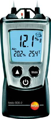 【代引不可】【メーカー直送】 テストー【計測機器】 ポケットライン材料水分計 TESTO606-2 温湿度計測機能付 TESTO6062 (3337499)【ラッピング不可】
