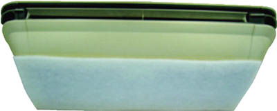【代引不可】【メーカー直送】 橋本クロス【工業用フィルター】カットフィルター 400×400mm (50枚/箱) L4040 (4444795)【ラッピング不可】