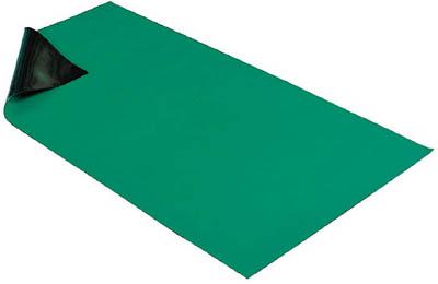 【代引不可】【メーカー直送】 ホーザン【静電気対策用品】 導電性カラーマット 1X1.8M グリーン F727 (4699921)【ラッピング不可】