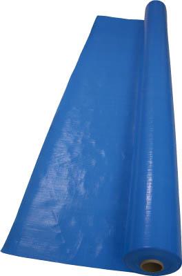 【代引不可】【メーカー直送】 萩原工業【シート・ロープ】ターピークロスブルー#3000 1.8m幅×100m TPC18BL (3825647)【ラッピング不可】