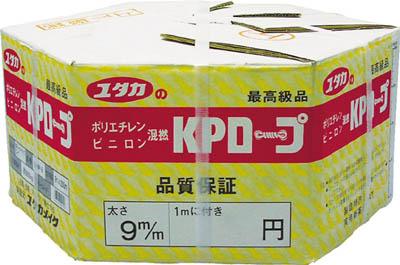 【代引不可】【メーカー直送】 ユタカメイク【シート・ロープ】 KPメーターパックロープ 12mm×200m KMP12 (3675769)【ラッピング不可】