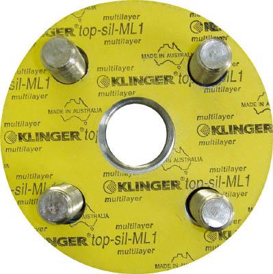 【代引不可】【メーカー直送】 クリンガー社【管工機材】 フランジパッキン(5枚入リ) ML1-10K-80A ML110K80A (3202780)【ラッピング不可】