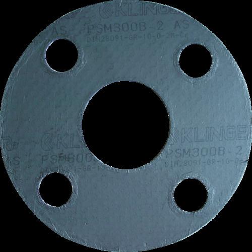 【代引不可】【メーカー直送】 クリンガー社【管工機材】 膨張黒鉛ガスケット(ステンレス爪付鋼板入リ) 5枚入リ PSM10K80A (3613216)【ラッピング不可】