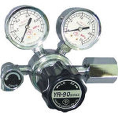 【代引不可】【メーカー直送】 ヤマト産業【溶接用品】汎用小型圧力調整器 YR-90(バルブ付) YR90R11TRC (4346866)【ラッピング不可】