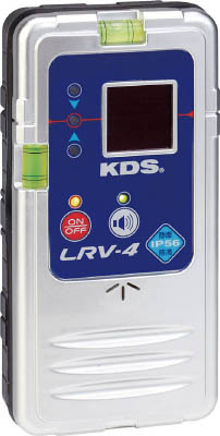 【代引不可】【メーカー直送】 ムラテックKDS【測量用品】 防滴レーザーレシーバー LRV4 (4756495)【ラッピング不可】