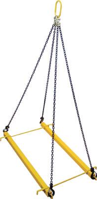 【代引不可】【メーカー直送】 スリーエッチ【吊りクランプ・スリング・荷締機】 パレットツール標準セット3点 1.5t PTS15 (7566514)【ラッピング不可】