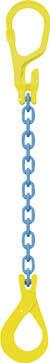 【代引不可】【メーカー直送】 マーテック【吊りクランプ・スリング・荷締機】 チェーンスリングセット MG1-GBK6-1.1T 2m MG1GBK6 (4023056)【ラッピング不可】