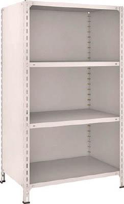 【代引不可】【メーカー直送】 TRUSCO トラスコ中山 【物品棚】 軽量棚背板・側板付 W875XD600XH1500 4段 53W24 (5039169)【ラッピング不可】