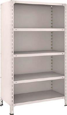 【代引不可】【メーカー直送】 TRUSCO トラスコ中山 【物品棚】 軽量棚背板・側板付 W875XD450XH1500 5段 53X25 (5039151)【ラッピング不可】