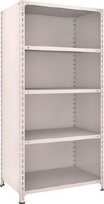 【代引不可】【メーカー直送】 TRUSCO トラスコ中山 【物品棚】 軽量棚背板・側板付 W875XD600XH1800 5段 63W25 (5039291)【ラッピング不可】