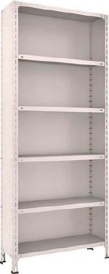 【代引不可】【メーカー直送】 TRUSCO トラスコ中山 【物品棚】 軽量棚背板・側板付 W875XD300XH2100 6段 73V26 (5039371)【ラッピング不可】