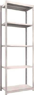 【代引不可】【メーカー直送】 TRUSCO トラスコ中山 【物品棚】 M1.5型軽中量棚 860X445XH2400 5段 単体 NG M1.58345 (4500059)【ラッピング不可】