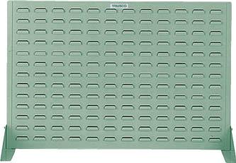 【代引不可】【メーカー直送】 TRUSCO トラスコ中山 【工場用保管設備】 コンテナラックパネル 900X305XH600 HT600P (5015413)【ラッピング不可】