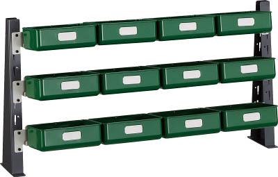 【代引不可】【メーカー直送】 TRUSCO トラスコ中山 【工場用保管設備】 UPR型ライトビンラック卓上用 K-20HX12個 UPRML1803KL (3304574)【ラッピング不可】