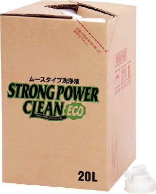 【代引不可】【メーカー直送】 SYK 【清掃用品】 ストロングパワークリーンエコ20L S2620 (4933907)【ラッピング不可】