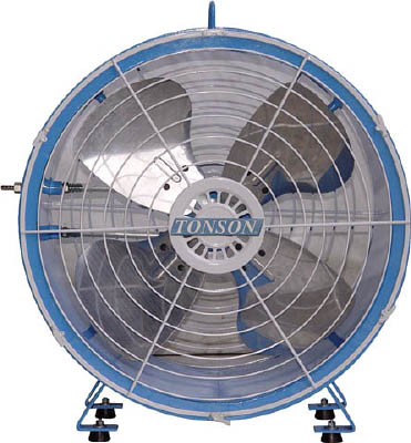 【代引不可】【メーカー直送】 アクアシステム 【環境改善機器】 エアモーター式 軸流型 送風機 (アルミハネ45cm) AFR18 (4550242)【ラッピング不可】