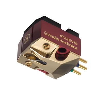 AT33EV [アナログアクセサリー][audio-technica] オーディオテクニカ MC型(デュアルムービングコイル)ステレオカートリッジ