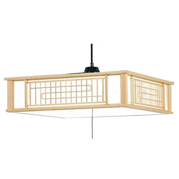 【~8畳用】日立(HITACHI) LEDペンダントライト LEP-CA805EJ [高級和風木粋シリーズ][天井照明]