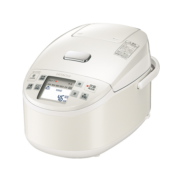 【1升炊き】日立(HITACHI) ジャー炊飯器 RZ-VX180M-W パールホワイト [炊飯ジャー]