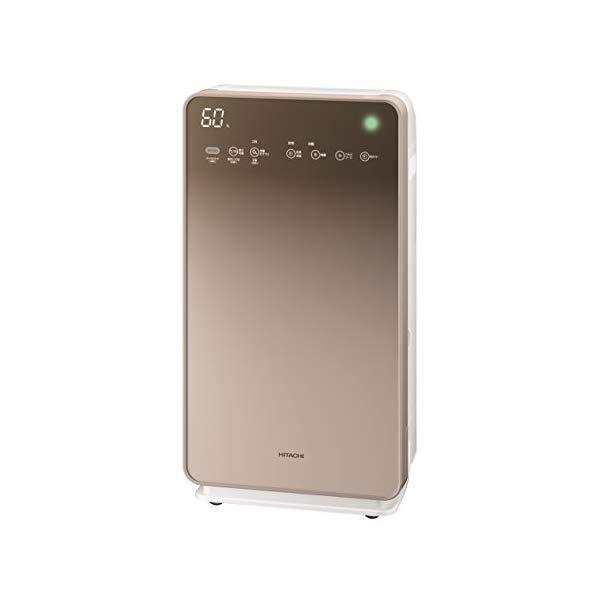 【適用床面積~48畳】日立(HITACHI) 加湿空気清浄機 クリエア EP-MVG110(N) グラデーションシャンパン