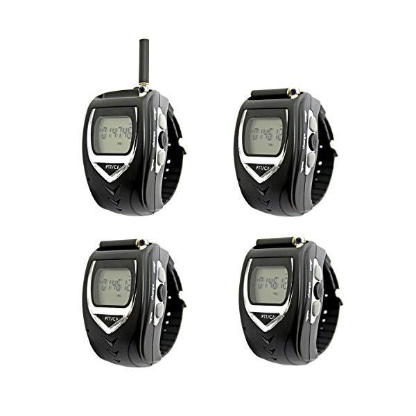 【2台×2セット】FRC(エフアールシー) 腕時計型 特定小電力トランシーバー FT-20W