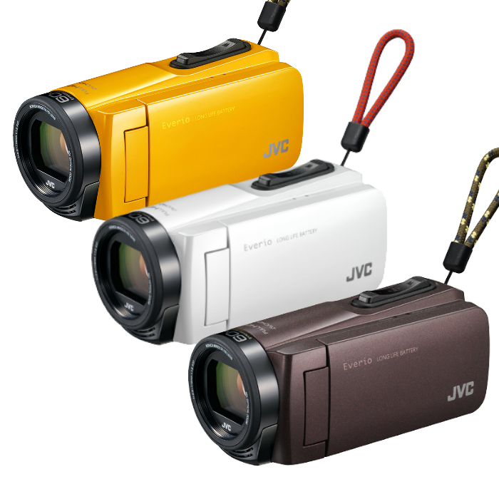 JVC ハイビジョンメモリームービー GZ-F270 [Everio/エブリオ][ムービーカメラ][ビデオカメラ][運動会]