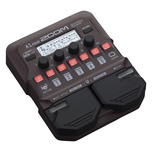 ZOOM A1 FOUR マルチエフェクター アコースティック ギター ズーム 楽器 マルチエフェクツプロセッサー