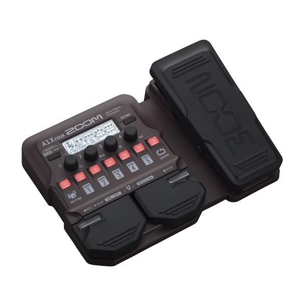 ZOOM A1X FOUR マルチエフェクター アコースティック ギター ズーム 楽器 マルチエフェクツプロセッサー