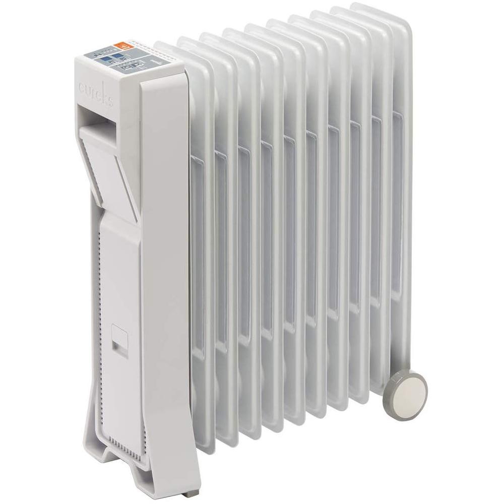 暖房機 オイルヒーター 4-10畳タイプ 日本製 ユーレックス LF11ES(IW) アイボリーホワイト LFシリーズ eureks (ラッピング不可)