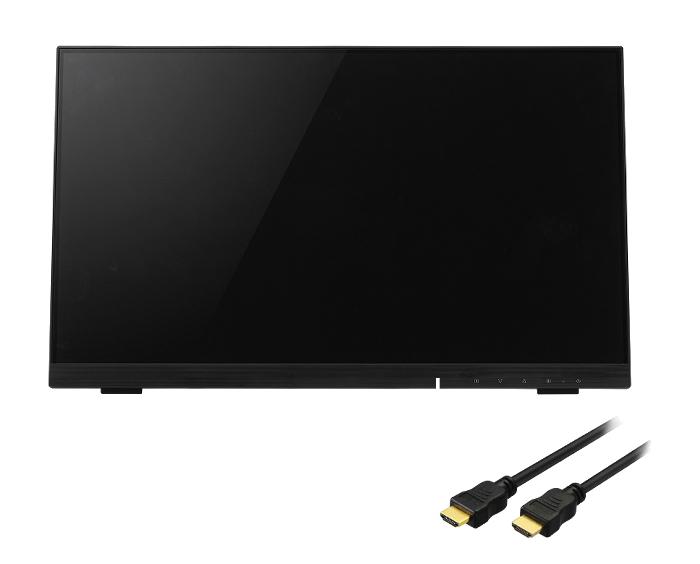 ディスプレイ モニター タッチパネル GH-LCT22C-BK 21.5型 LED 液晶ディスプレイ グリーンハウス GREEN HOUSE 【HDMIケーブル3m付き】