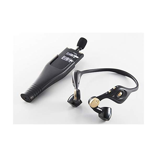 【送料無料】【耳かけ型の音声ガイドシステム】【代引不可】キングジム ハッキリ聴こえる音声ガイド KNC10S [無線システム][KINGJIM]