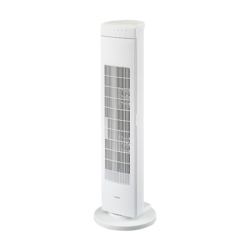 (取り外して洗えるファン)ツインバード タワーファン EF-D913W 扇風機 (ラッピング不可)