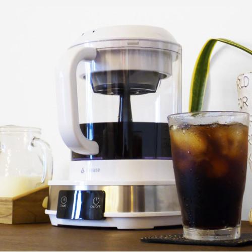 (電動水出しコーヒーメーカー)(2~5カップ)リヴィーズ CB-011W アイスコーヒーメーカー コールドブリュー 時短家電 アウトドア クラウドファンディング Makuake (マクアケ)