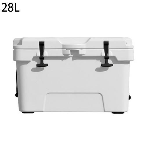 (メーカー直送)(代引不可) ユーザー ハードクーラー 28L ホワイト U-W560 アウトドア クーラーボックス 保冷ボックス (ラッピング不可)