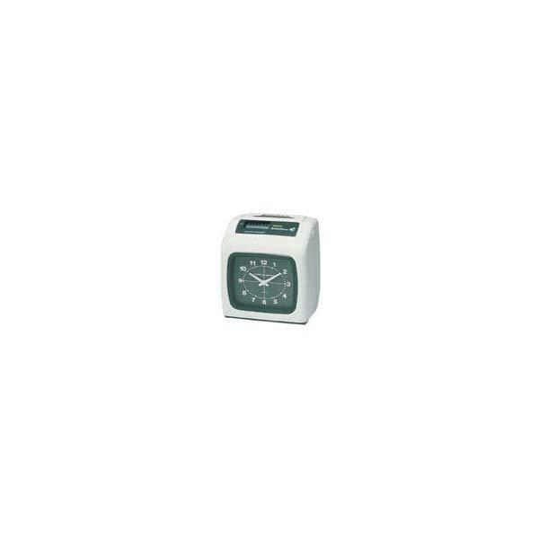 アマノ 電子タイムレコーダー BX6200(W) AMANO 6欄印字 外部時報・電子メロディー機能付き