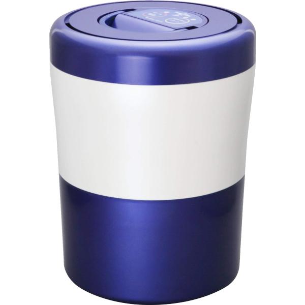 パリパリキューブライト アルファ PCL-33-BWB ブルーストライプ 島産業 生ごみ減量乾燥機 生ゴミ 生ごみ処理機 生ゴミ処理機 ゴミ 生ごみ処理 乾燥機 ゴミ箱 臭わない バケツ 密閉 消臭 ごみ箱 生ごみ 乾燥