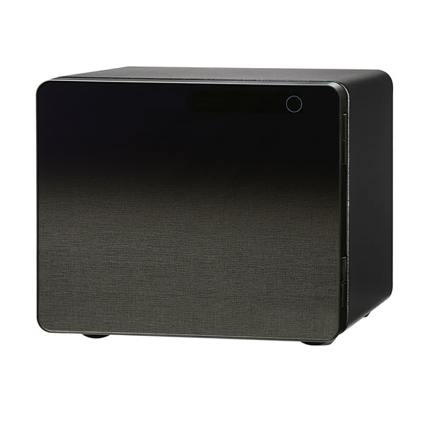 【メーカー直送/代引不可】 エーコー EIKO 小型耐火金庫 タッチパネルテンキー式 ICB SAFE ICB-020GK ブラックグラデーション 黒 耐火金庫 テンキータイプ (ラッピング不可)