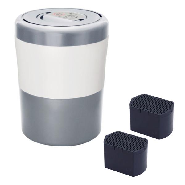 【フィルターセット】パリパリキューブライト アルファ PCL-33-GSW グレイッシュシルバー 島産業 生ごみ減量乾燥機 生ゴミ 生ごみ処理機 生ゴミ処理機 ゴミ 生ごみ処理 乾燥機