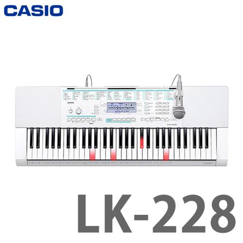 (キーボード) カシオ LK-228 (ラッピング不可)