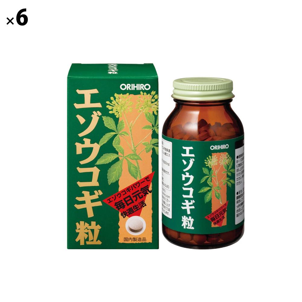 (6点セット)(サプリメント) オリヒロ エゾウコギ粒 (ラッピング不可)