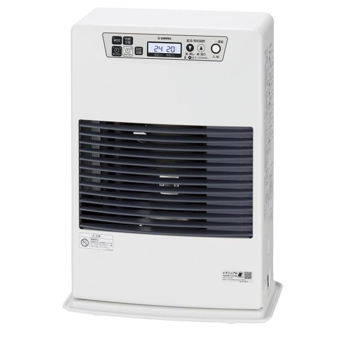 (石油暖房機)サンポット FF-4211TLS FF式温風コンパクト (ラッピング不可)