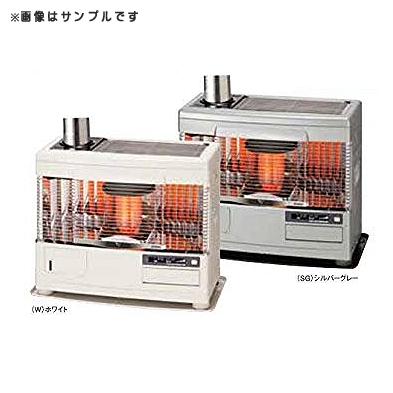 (石油暖房機)サンポット UFH-7731UKC-R(SG) シルバーグレー 煙突床暖 (ラッピング不可)