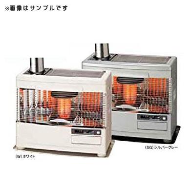 (石油暖房機)サンポット KSH-7031KC-R(W) ホワイト 煙突式 (ラッピング不可)